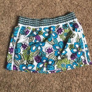 NWOT Athleta Floral Print Skirt - L